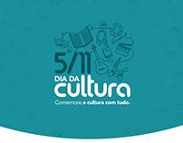 Livraria Cultura - Campanha Dia da Cultura