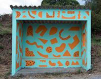 Mural Bus Stop