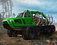 Johndeere Forwarder redesign