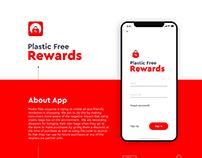 Plastic Free Rewards - Concept App