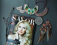 my works in magazines SAVOR & JURAMAX