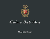 Graham Beck Mobi-site Design