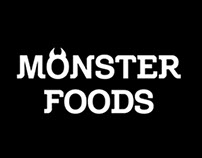 Monster Foods - Branding and Packaging Design