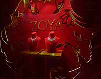 Season show window - Zoya, a tata product