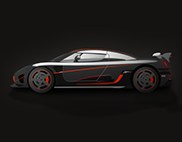 Koenigsegg Agera RS Illustration