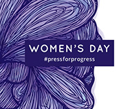 Women's Day Event Branding 2018