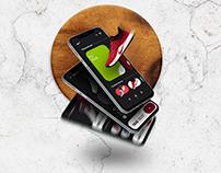 Nike store app - Freebie 2 XD