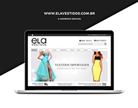 E-commerce Ela Vestidos [BoxLoja]