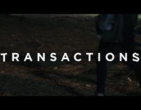 TRANSACTIONS: Fashion Film