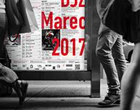 Theatre program poster & flyer design