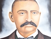 Oil Painting Portraits of African American Pioneers