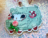 Merry Mint Sheep