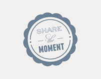 SHARE THE MOMENT Poster Concept