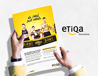 eTiQa Insurance Campaign- No Pain. Just Gains.