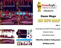 Underground Cavern: 2D RPG MAP 6