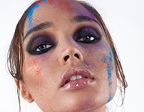 Retouching: Painted beauty