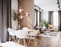 Lady Emerald - apartment design