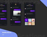 Social Media UI Concept