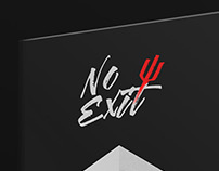 No Exit - Book Cover Design