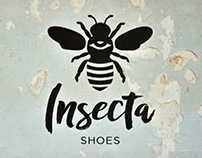 PGE Insecta Shoes - Branding & Editorial