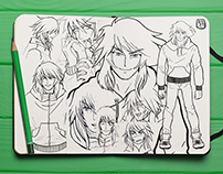 manga Character original