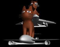 Fun-fun-Plane (+ Cat)