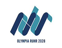 Corporate Design Olympia Ruhr 2028