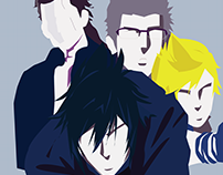 The Bros ( FF15 Vector Art )