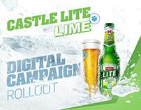 Castle Lite Lime - Digital Campaign Rollout