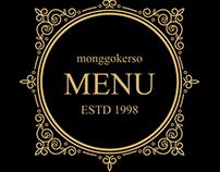Classic Restaurant Menu