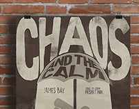 Gig Poster - James Bay