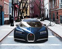 Bugatti Chiron Renders