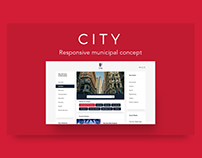 CITY | municipal concept UI