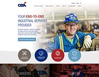 CEDA Website Design