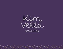 Kim Vella Coaching 〰️ Brand identity + website design