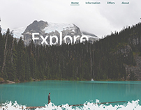Photo Gallery . Landing Page