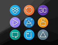 DreamUI Inspire Icons.