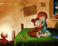 kinderbuch illustration | best friends