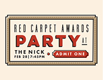 Red Carpet Awards Party