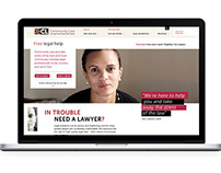 Community Law Website and Online Brand Experience