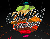 Poster Nomada Records