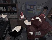 Frame - Short Animation & Concept Design