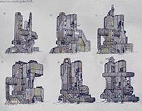 Concept city structures