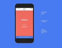 Mobile App - Cheers