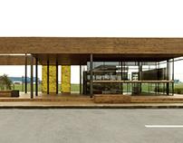 pavilion for PMU