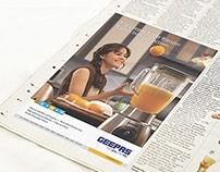 News Paper Advertisement