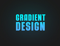 Blue GRADIENT (free work)