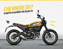 Ducati Scrambler - Che biker sei?