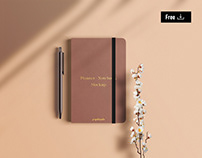 Free Planner / Notebook Mockup