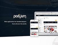 Podyum - social network for football players